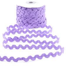 rick rack ribbon lavender rick rack trim ribbon and trims craft supplies