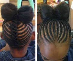 straight back hairstyle braided hairstyles for kids straight back hair is our crown