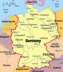 map of germany with states and capitals germ2007 06