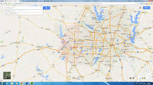 Dallas Map by Fort Worth Texas Map
