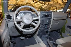 4 Door Jeep Interior 2007 Jeep Wrangler 4 Door News Reviews Msrp Ratings With