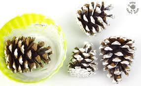 Pinecone Gorgeous Frosty Pinecone Craft Kids Craft Room