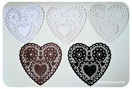 heart shaped doilies heart shape lace doily basic color pack on luulla