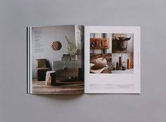 home design catalog play with scale products on one side lifestyle photo on other
