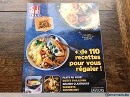 cuisine revue livre de cuisine ciné télé revue spécial plats uniques a vendre