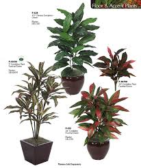 artificial life like accent house plants