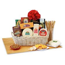 cheese and cracker gift baskets willow cheese and cracker gift basket gift baskets and ideas