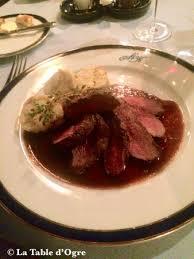 cerf cuisine filet de cerf picture of restaurant u modre kachnicky prague