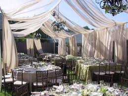 wedding draping fabric outdoor wedding draping weddings by lilly