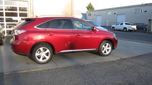 lexus rx 350 for sale columbus ohio 2011 lexus rx350 burgundy stock 101254 walk around youtube