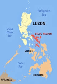 Luzon Map Earthquake With 5 4 Magnitude Shakes Areas In Bicol Eastern Visayas