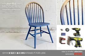 homemade modern diy dip dye chair do it diy stuff to try pinte