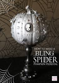 halloween spider decoration ideas halloween dinner party table 3 ways bling spider theme soiree