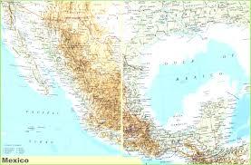 Map Of Sinaloa Mexico by Maps Of Mexico Best Map Mexivo Evenakliyat Biz