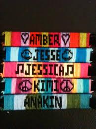customized name bracelets name bracelets custom made friendship bracelets