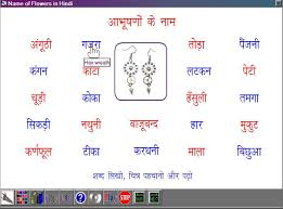 learn name of ornaments and jewellery in 12 of 14