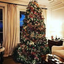 celebrity christmas decor 2016 glamour