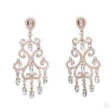 chandelier earrings jewelry odelia odelia 18k gold diamond chandelier earrings