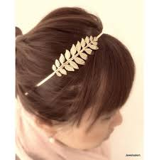 bohemian hair accessories bohemian gold wedding headband leaf hairband sprig branch
