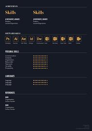 free elegant resume template for designers marketing hr u0026 i t