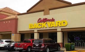 California Backyard Tub Patio Furniture Backyard Super Store Elk Grove Ca
