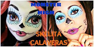 monster high halloween maquiagem p halloween monster high youtube