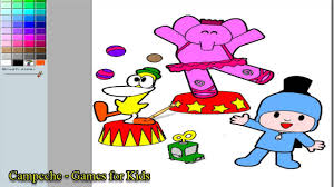 pocoyo online coloring pages coloring pictures game youtube