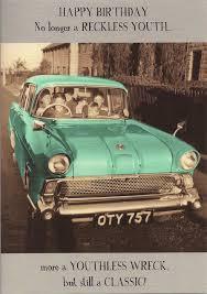 classic car cards novelty cards atomic cards boomerang cards