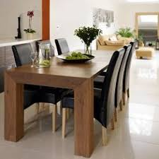 Dark Wood Dining Room Table Contemporary Dining Room Love The Modern Wood Dining Table The