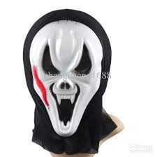 full faces scream ghost mask mardi gras masquerade halloween