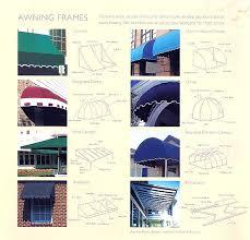 Awning Frames Venango Awning Frame Types