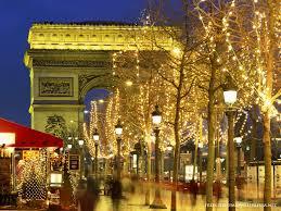 Christmas Trees In Paris Outdoor Lights U2013 Elegant Inspired Living