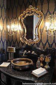 Gold Bathroom Mirror by Best 25 Gold Powder Ideas On Pinterest Feminine Bathroom