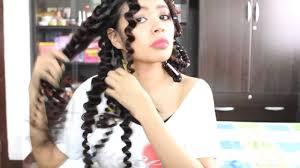 straw curls method 5 no heat spiral curls plus an update youtube