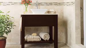 contemporary bathroom vanity in dark cherry omega