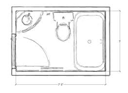 small bathroom floor plans 5 x 8 89 small bathroom 5 x 8 designs 5x8 bathroom design