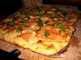 cuisine norvegienne pizza norvégienne à la mozzarella fromage mozzarela recette de
