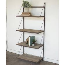 Metal And Wood Bookshelves rustic metal and wood bookshelf shades of light
