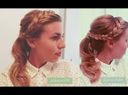 headband ponytail braided headband retro ponytail hairstyles for hair