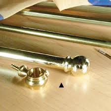 Sash Rod Curtains Brass Telescoping Sash Curtain Rod With Bracket Buycurtainrod