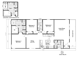 Floor Plans With Porches by Wilmington Manufactured Home Floor Plan Or Modular Floor Plans