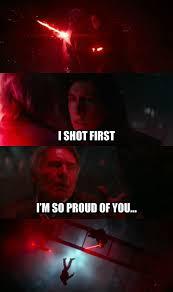 Han Shot First Meme - ren shot first han shot first know your meme