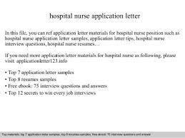 Example Nurse Cover Letter Free by Medical Review Nurse Cover Letter