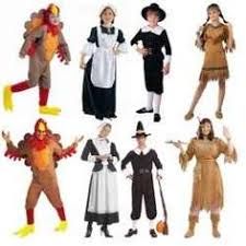 american fringed costume thanksgiving costume