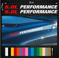 mustang gt decals and emblems 2 5 0l performance vinyl sticker emblem decals ford