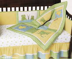 Frog Crib Bedding Frog Pond 4 Crib Bedding Set By Kidsline Kidsline Baby