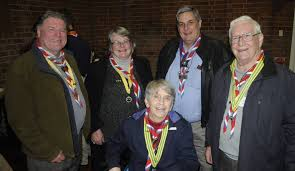 john smith thanksgiving scouts group holds 85th birthday thanksgiving service photos