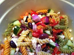 greek pasta salad recipe olives dressing and greek pasta salads
