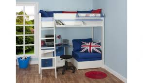 High Sleeper Bed With Desk And Sofa High Sleeper Bed With Desk And Sofa Bed 51 In Sleeper Sofa