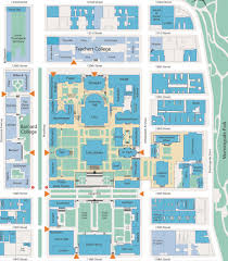 Columbia College Chicago Map by Map Columbia Campus Afputra Com